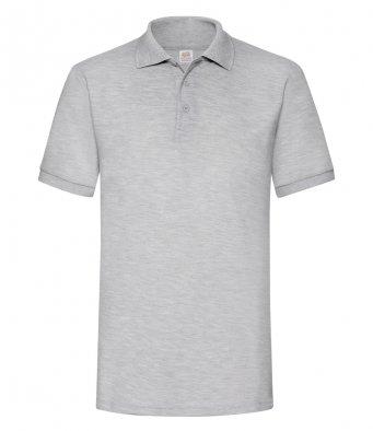 heathergrey heavy duty polo shirt