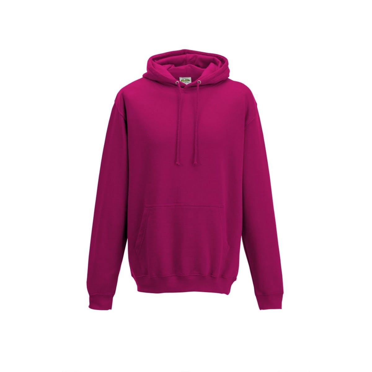 hot pink college hoodies