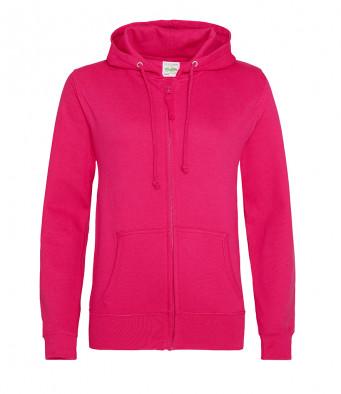 hot pink ladies hoodie