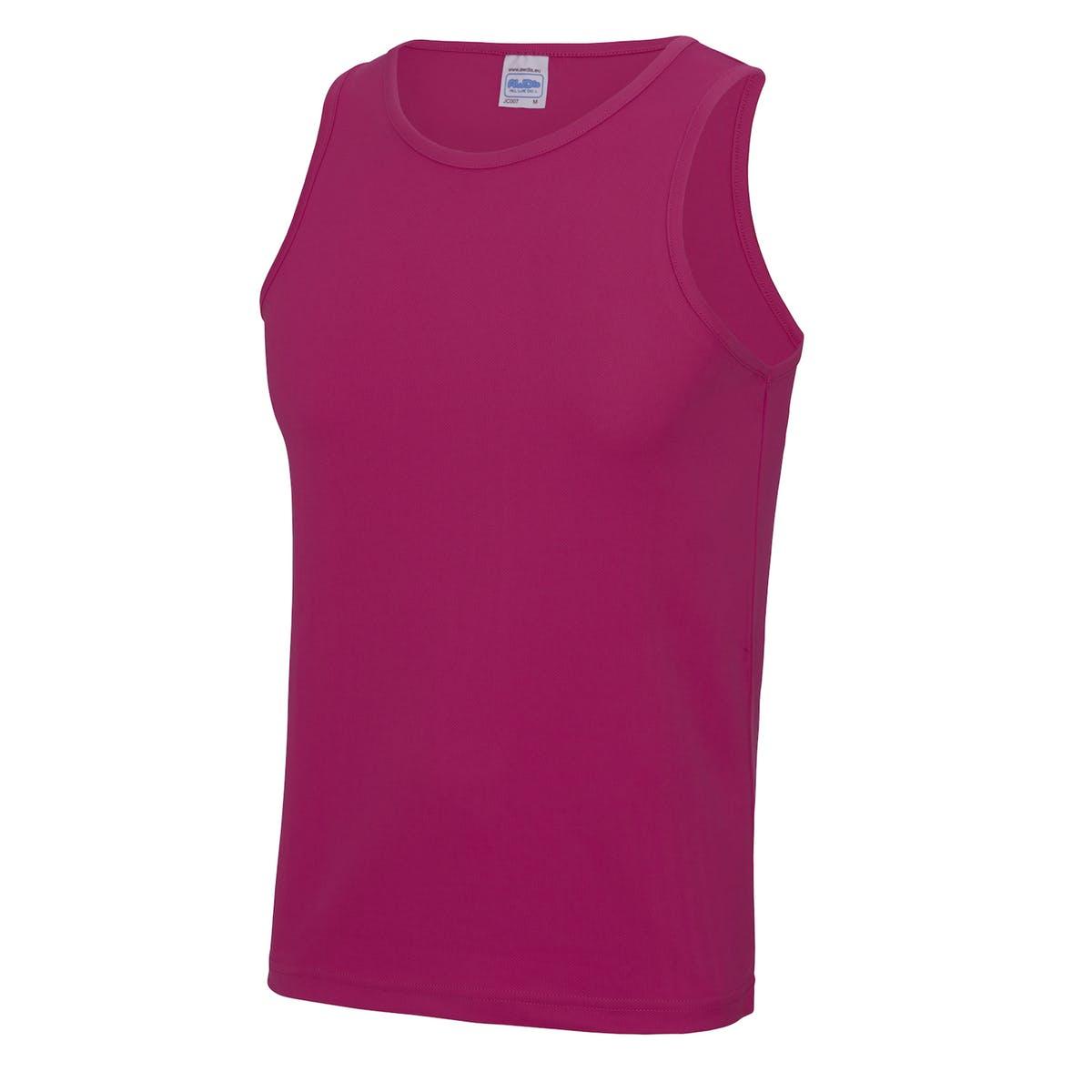 hot pink sports vest