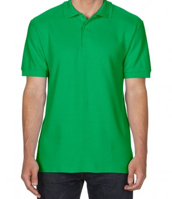irish green premium cotton polo shirt