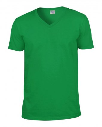irish green v neck t shirt