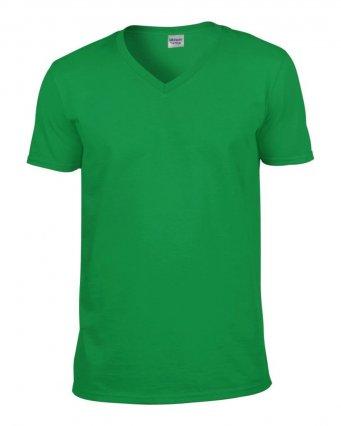 irish green v neck t shirt