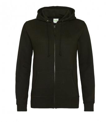 jet black ladies hoodie