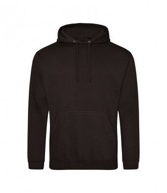 jet black overhead college hoodies