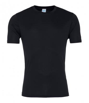 jet black smooth t shirt