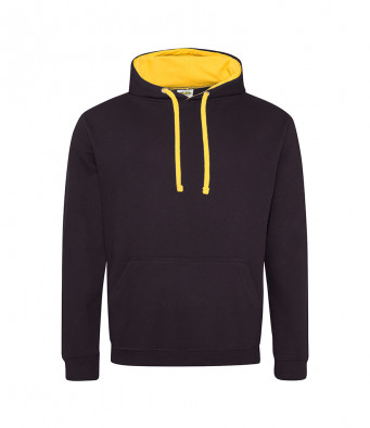 jetblack gold contrast hoodies