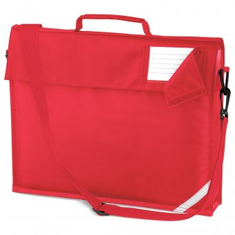 junior book bag bright red