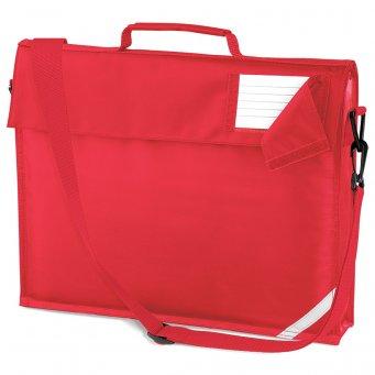 junior book bag bright red