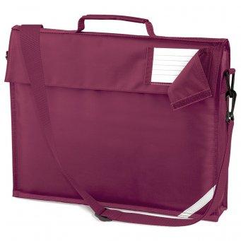 junior book bag burgundy