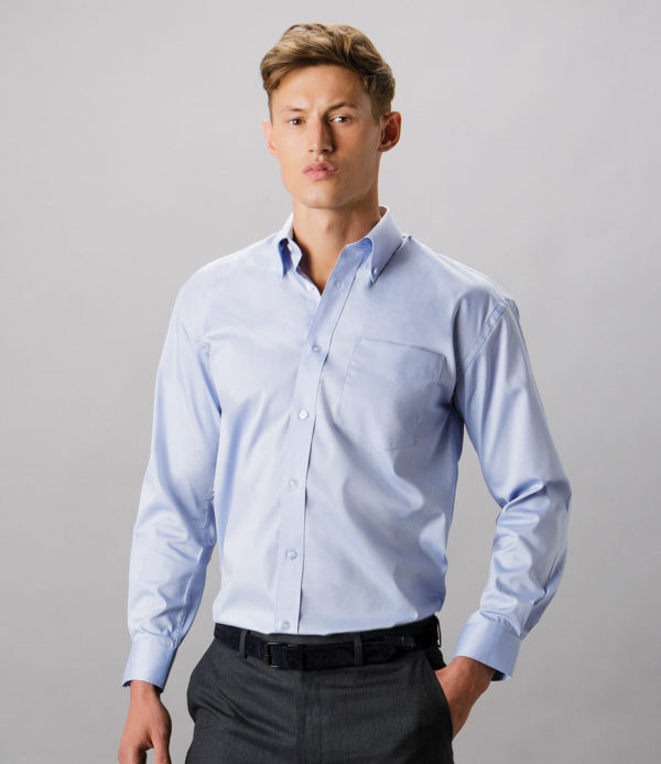 k105 long sleeve oxford shirt