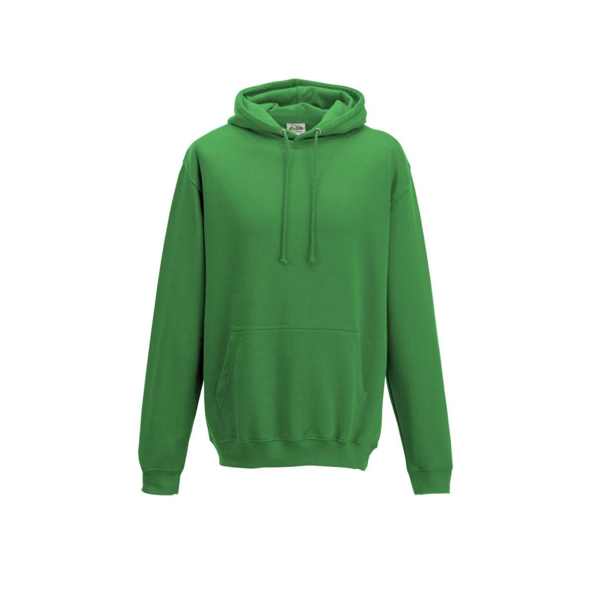 kelly green college hoodies