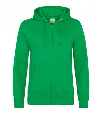 kelly green ladies hoodie