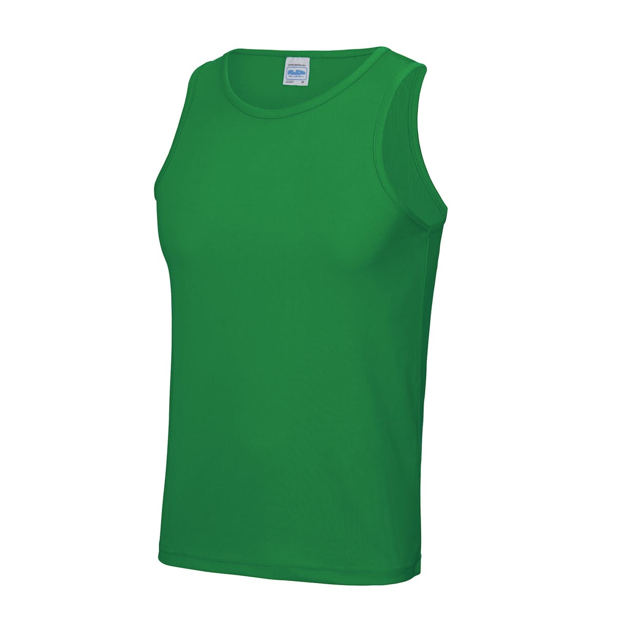 kelly green sports vest