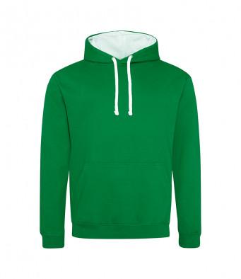 kellygreen arcticwhite contrast hoodies