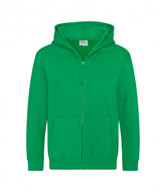 kellygreen childrens zipped hoodie