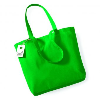 kellygreen organic cotton shopper tote bag