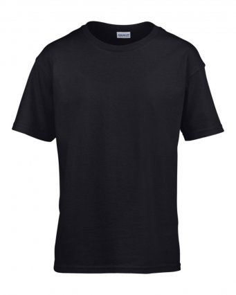 kids black t shirt