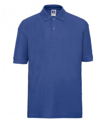 kids bright royal polo