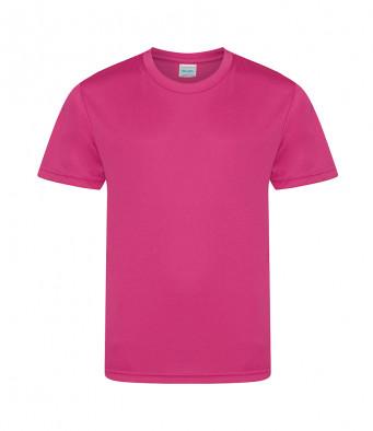 kids cool smooth t shirt hot pink