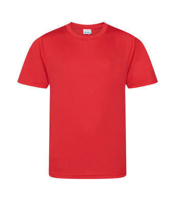 kids cool smooth t shirt red