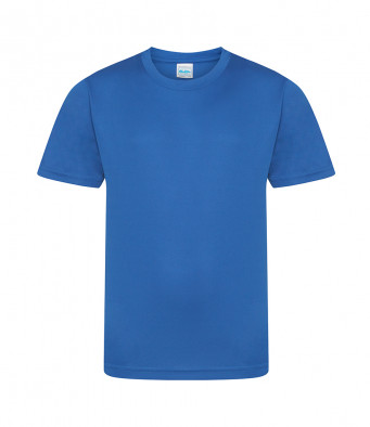 kids cool smooth t shirt royal blue