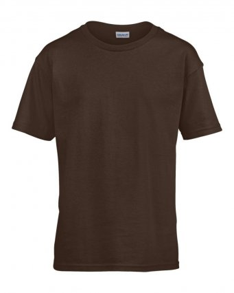 kids dark choc t shirt