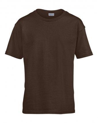 kids dark choc t shirt