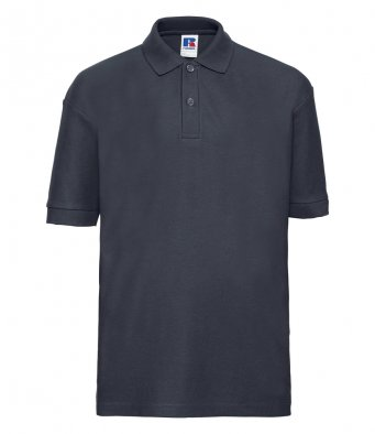 kids french navy polo