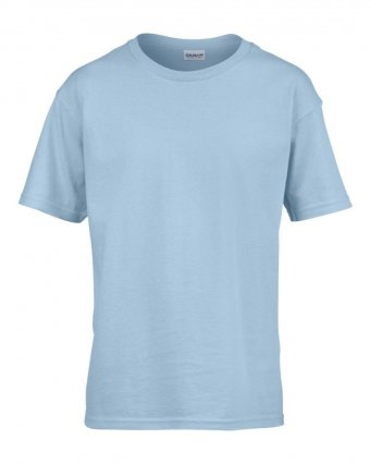 kids light blue t shirt