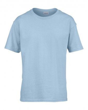 kids light blue t shirt