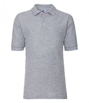 kids light oxford polo