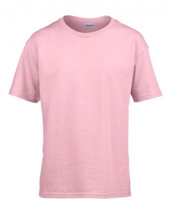 kids light pink t shirt