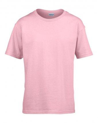 kids light pink t shirt