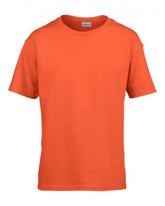 kids orange t shirt