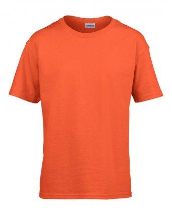 kids orange t shirt