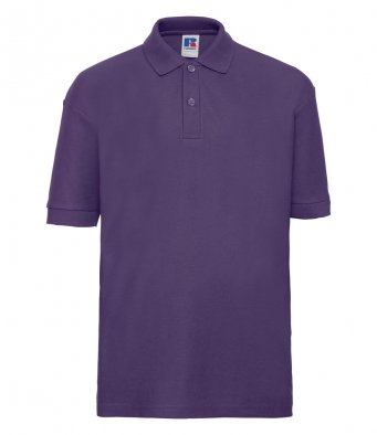 kids purple polo