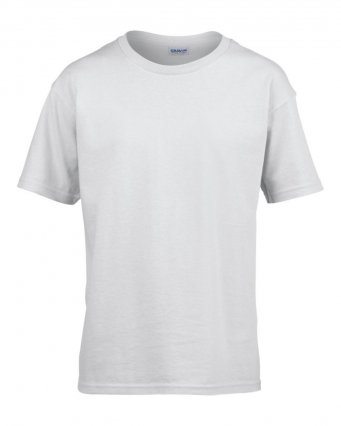 kids white t shirt