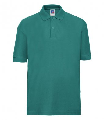 kids winter emerald polo