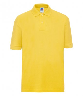 kids yellow polo
