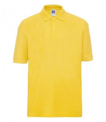 kids yellow polo