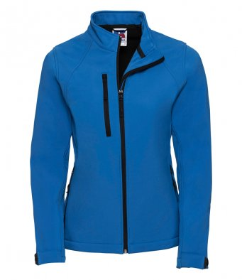 ladies azure softshell jacket