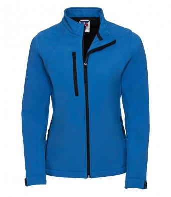 ladies azure softshell jacket