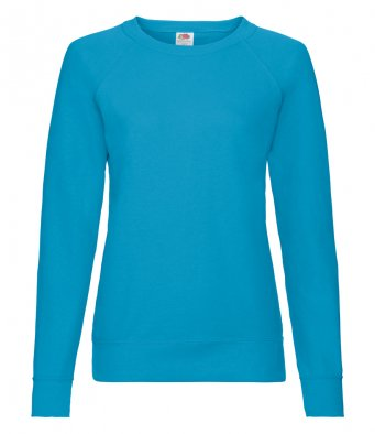 ladies azure sweatshirt