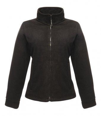 ladies black fleece jacket