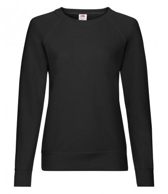 ladies black sweatshirt