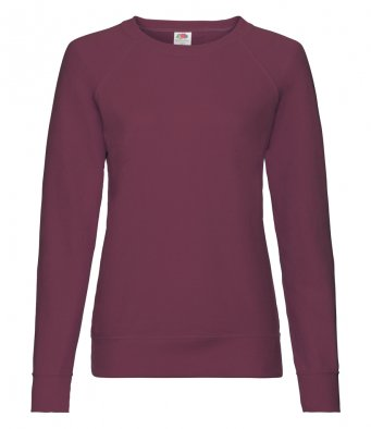 ladies burgundy sweatshirt