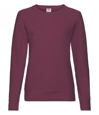ladies burgundy sweatshirt