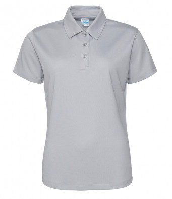 ladies cool heather polo