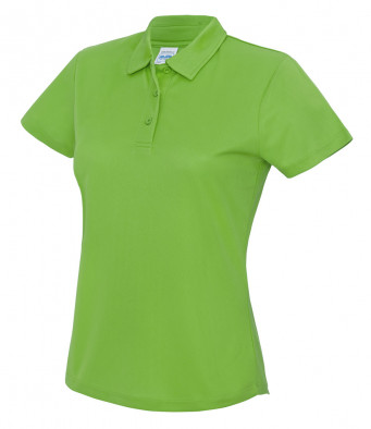 ladies cool lime polo shirt